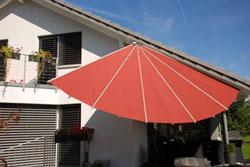 Sonnensegel für Garten und Balkon