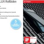 Rollladen für Dachfenster
