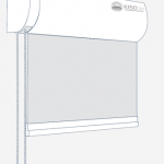 Maxirollo mit weißem Kasten.