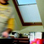 Dachfensterplissees verwendet in der Küche.