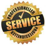 Professioneller Service.