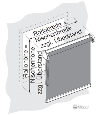 Rollo Wandmontage Interesting Duorollo Fr Fenster